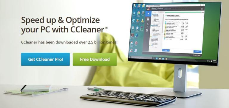 CCleaner 公式サイト