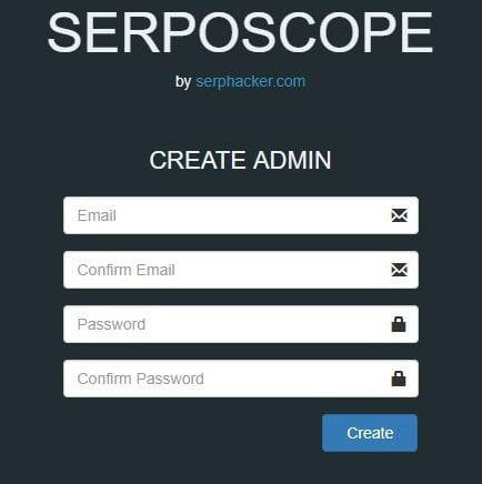 serposcope-Create-admin