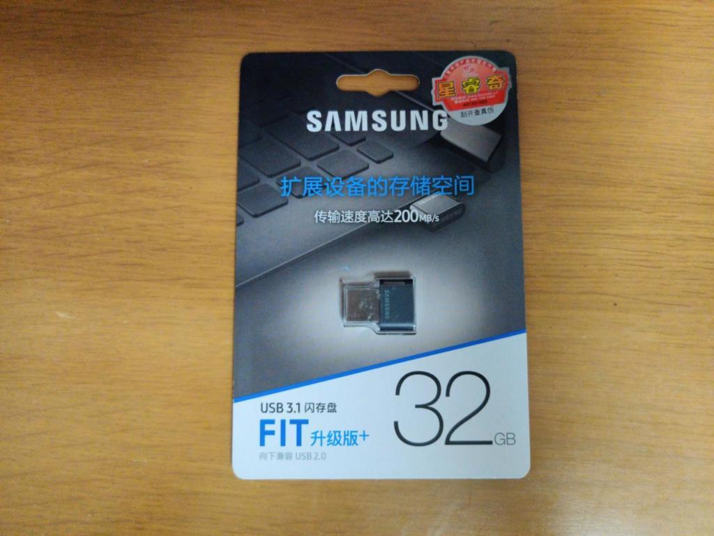 Samsung Fit 表パッケージ