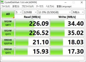 samsung fit CrystalDiskMark 32MB